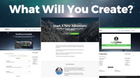 What Makes This Template So Amazing How To Create An Online Course Website Youtube Course Website Template