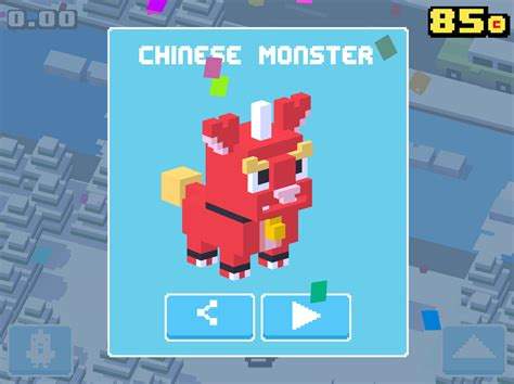 crossy road rare character crossy road unlock secret characters may