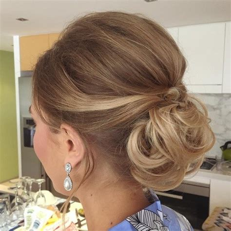 low bun with short hair 20 lovely low bun hairstyles