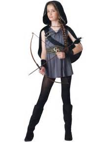 party city halloween costumes 2014 hooded huntress girls halloween costume 49 99 the