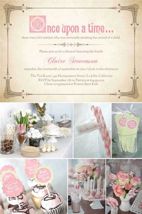 Fairytale Baby Shower by Ideas For Tale Baby Shower Invitations Ideas