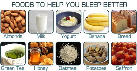 8 Snacks That Help You Sleep Better by 20 Foods To Help You Sleep Better Herbs Info