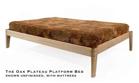 Eco Friendly Bed Frames Size Solid Oak Platform Bed Frame Eco Friendly Clean Unfinished No Toxins