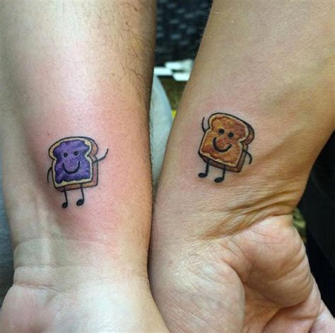peanut butter jelly tattoo best friend tattoos www pixshark images galleries