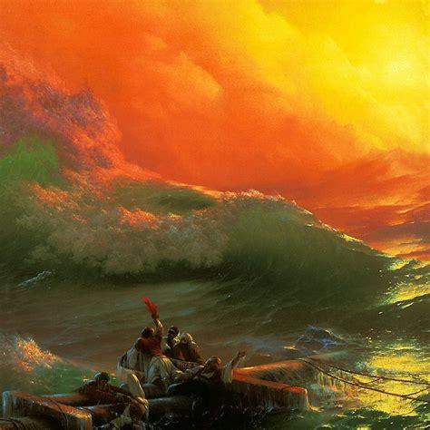 clipart aivazovsky ivan the ninth wave the ninth wave девятый вал 1850 aivazovsky painting