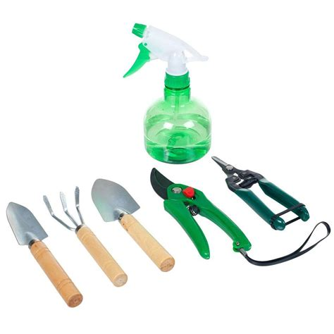 pure garden 7 25 in 7 in 1 plant care garden tool set with bag shop your way online shopping