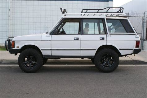 land rover classic lifted 1995 range rover classic defender land rover forums
