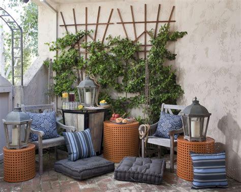 terrasse einrichten terrasse einrichten 55 ideen mit poufs und sitzkissen