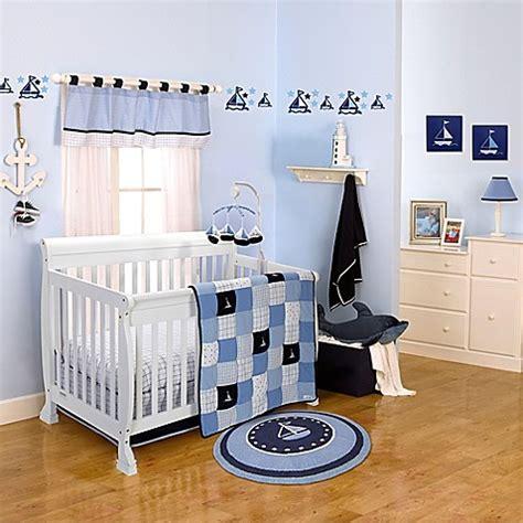 nautica baby bedding nautica kids 174 william crib bedding collection buybuy baby