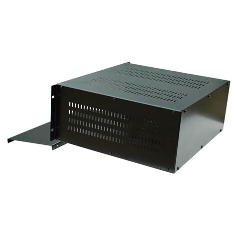 Rack Box by 4u 19 Inch 300mm Rack Mount Vented Enclosure Chassis