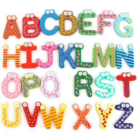 Mainan Magnetik Letters Anak buy grosir anak alphabet from china anak alphabet