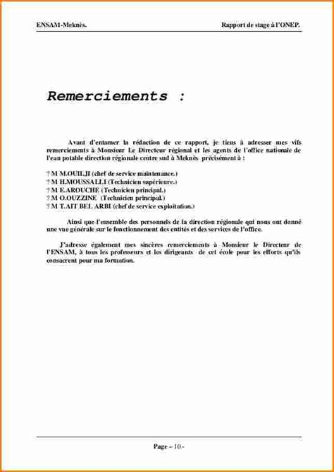 Exemple Lettre De Remerciement Rapport De Stage 3eme 13 Lettre De Remerciement Stage D Observation 3eme Exemple Lettres