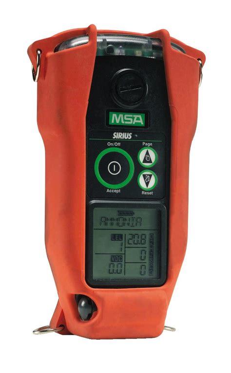 Multi Gas Detector Msa msa sirius multigas detector kit deluxe lel 4 gas