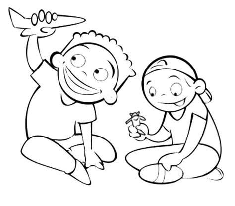 dibujos de niños jugando juegos tradicionales dibujos de ni 241 os jugando
