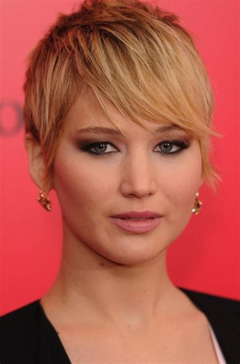 pixie bob for oblong face top 18 jennifer lawrence hairstyles haircuts inspire you