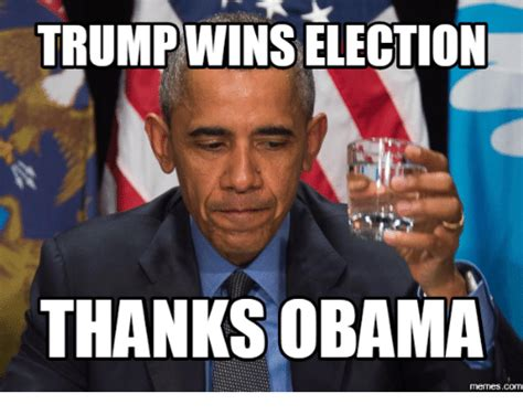 Thanks Obama Meme - 25 best memes about trump and obama meme trump and
