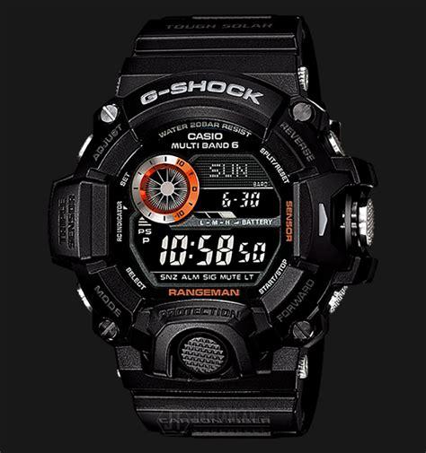 Jam Tangan G Shock Rangeman Navy casio g shock rangeman gw 9400bj 1jf multi band 6 resin