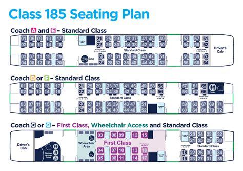 hull trains seat plan seating plans plans transpennine