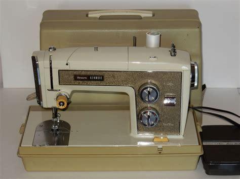 Sears Kenmore Model 1703 Zig Zag Sewing Machine W