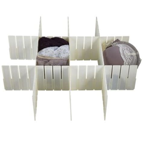 Drawer Dividers Argos by 5 Any Way Drawer Organiser Cut To Fit Plastic Dividers