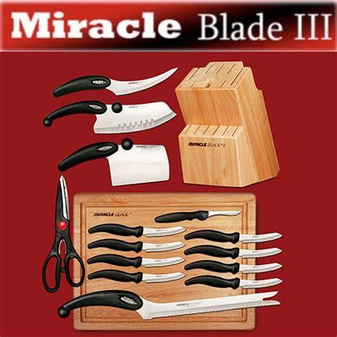 world class knives miracle blade world class series 17 knife set as