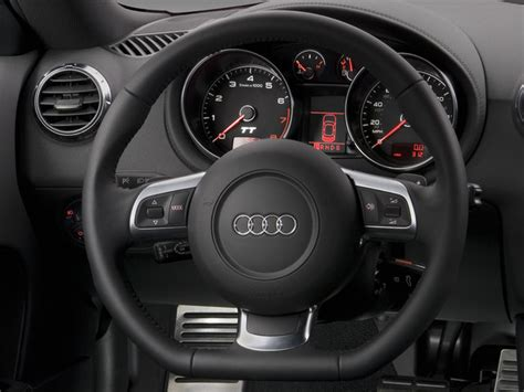 when did audi tt change shape what happened to the steering wheel