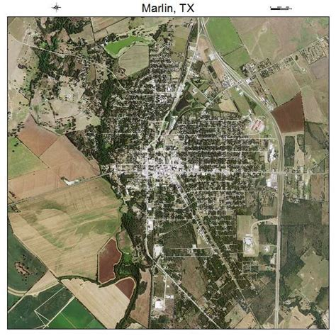 marlin texas map aerial photography map of marlin tx texas