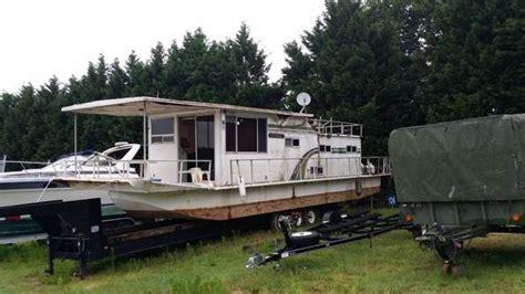 free boats ga gone 1973 colmansalin 42ft houseboat flowery branch ga