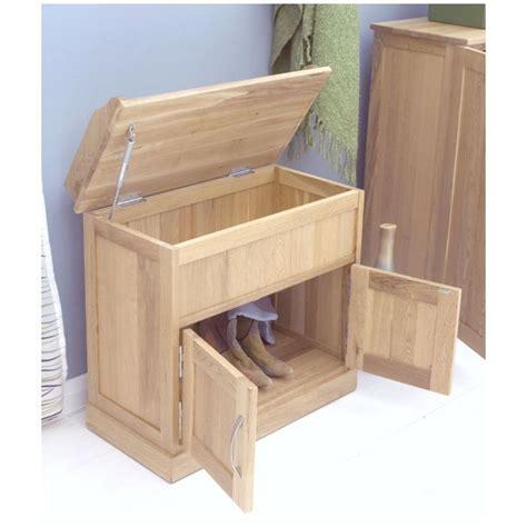 oak hallway bench mobel solid oak furniture shoe storage hallway bench ebay