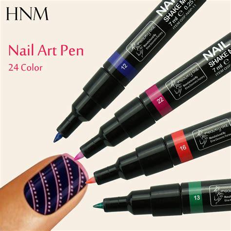 3d Nail Pen hnm 3d nail pen gel painting drawing pen