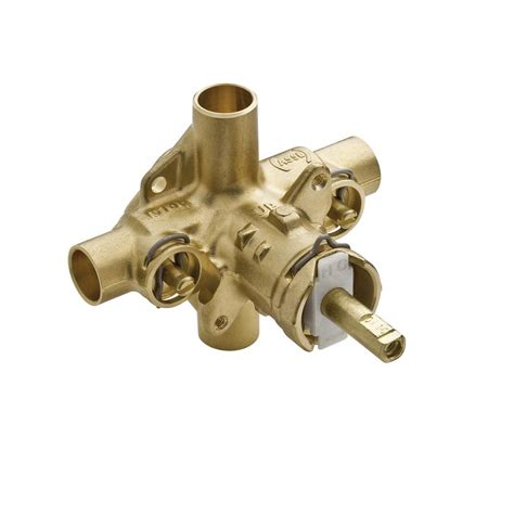 Pressure Balancing Valve For Shower by Moen 2570 In Positemp Pressure Balancing Cycling