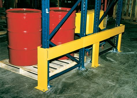 warehouse rack protectors guarding