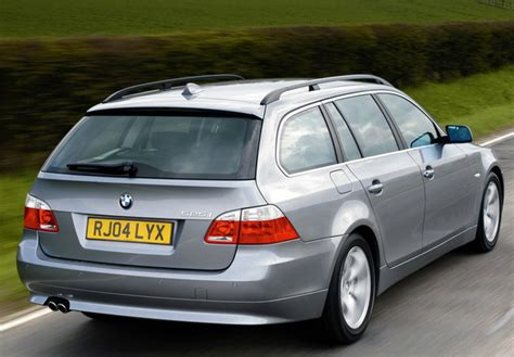 2004 bmw 525i specs bmw 525i touring uk spec e61 2004 07 images