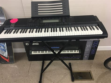 Keyboard Casio Wk 500 casio wk 500 electric keyboard southside pawn