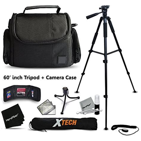 Tripod Fujifilm Xa2 premium well padded bag and size 60 inch tripod accessories kit for fujifilm