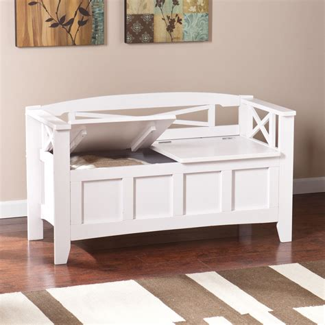 white hallway bench white entryway storage bench clean stabbedinback foyer making easy white
