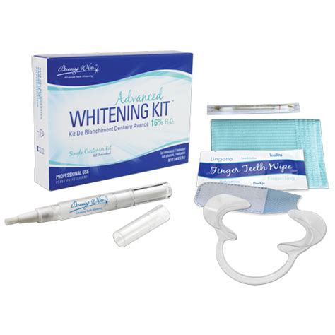 advanced whitening kit  hp