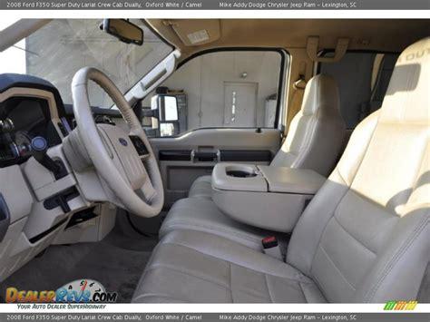 White Home Interior camel interior 2008 ford f350 super duty lariat crew cab