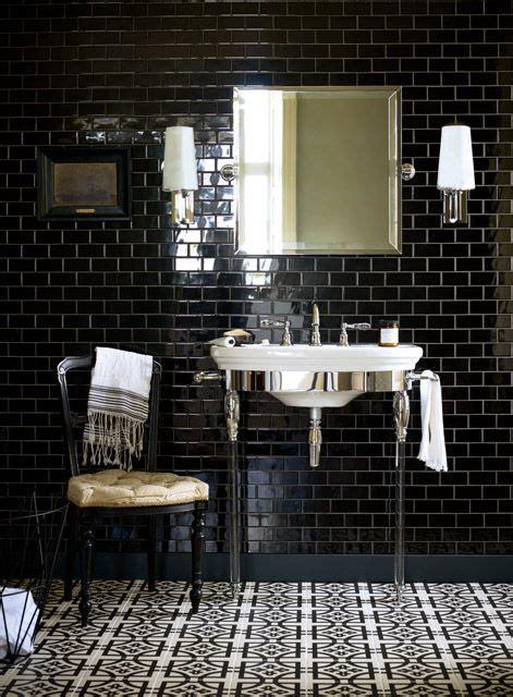 black subway tile bathroom 33 chic subway tiles ideas for bathrooms digsdigs