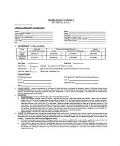 sample industry contract template 5 free documents
