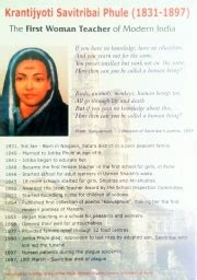 savitribai phule biography in english language great indian women wikieducator