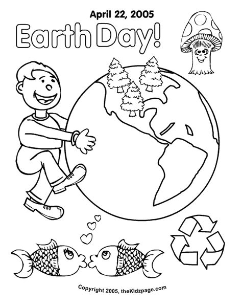 earth day coloring pages printable coloring home