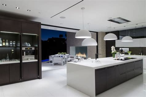 modern kitchen architecture lavish beverly residence brings home the