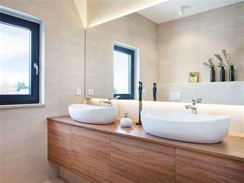 bad design ideen doppel waschbecken oval mit unterschrank bad f 252 r m 246 bel