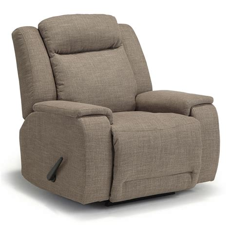 memory foam recliners best home furnishings hardisty casual swivel glider
