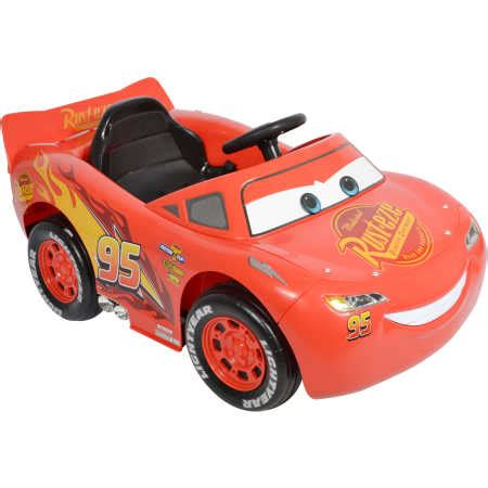 lighting mcqueen ride on car cars 3 lightning mcqueen electric ride on car big w