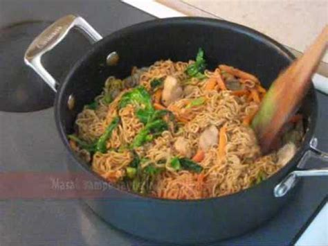 resep membuat mie ayam surabaya resep mie goreng ayam chicken fried noodle youtube