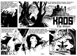 Kaos Never Look Back the bronze age of blogs the complete kaos the slayer