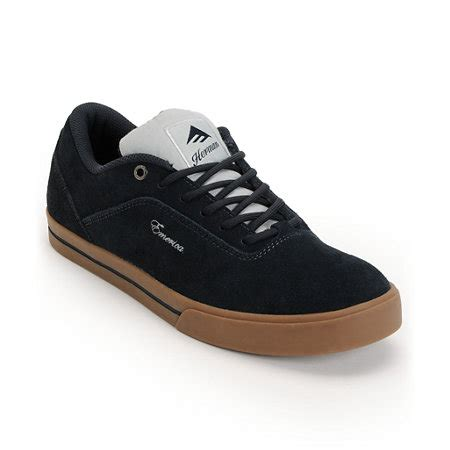 Sepatu Casual Vans Authentic Navy Denim Gum Code Icc emerica g code bryan herman navy gum skate shoe at zumiez pdp
