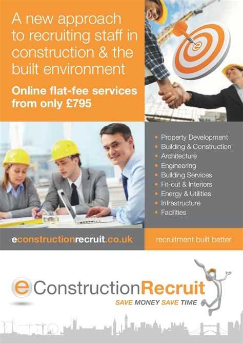 recruiting brochure template e construction recruit brochure june 2011